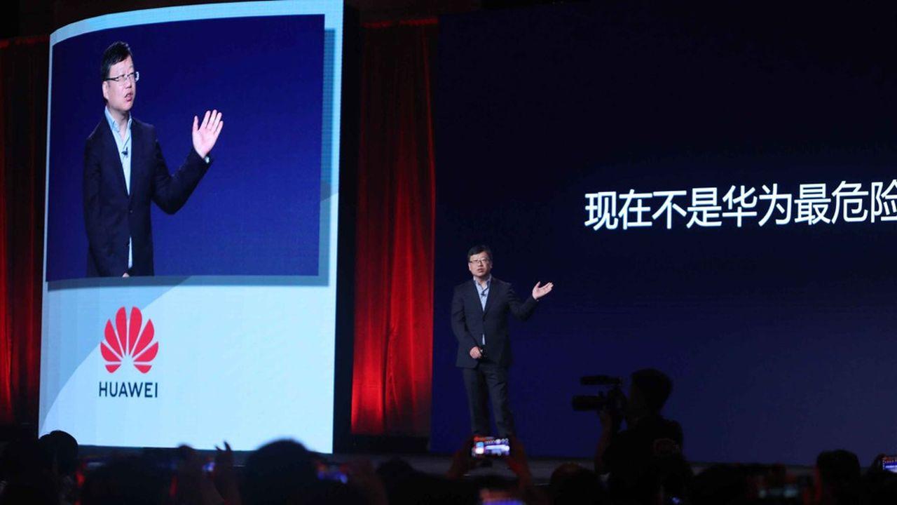 Huawei annonce jusqu'à 60% de baisse de ventes à l'étranger — Smartphones