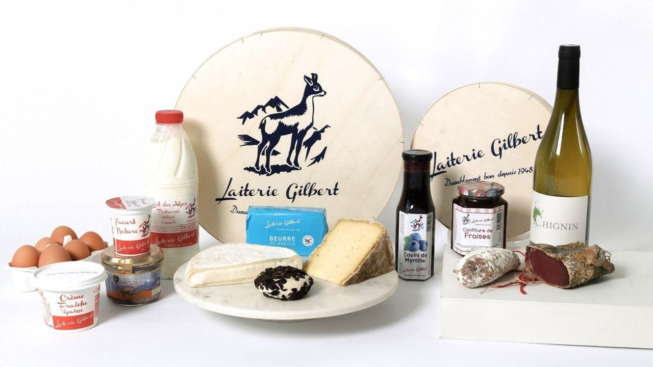 la Laiterie Gilbert est à la fois grossiste en fromages et fabricant de produits de crémerie.