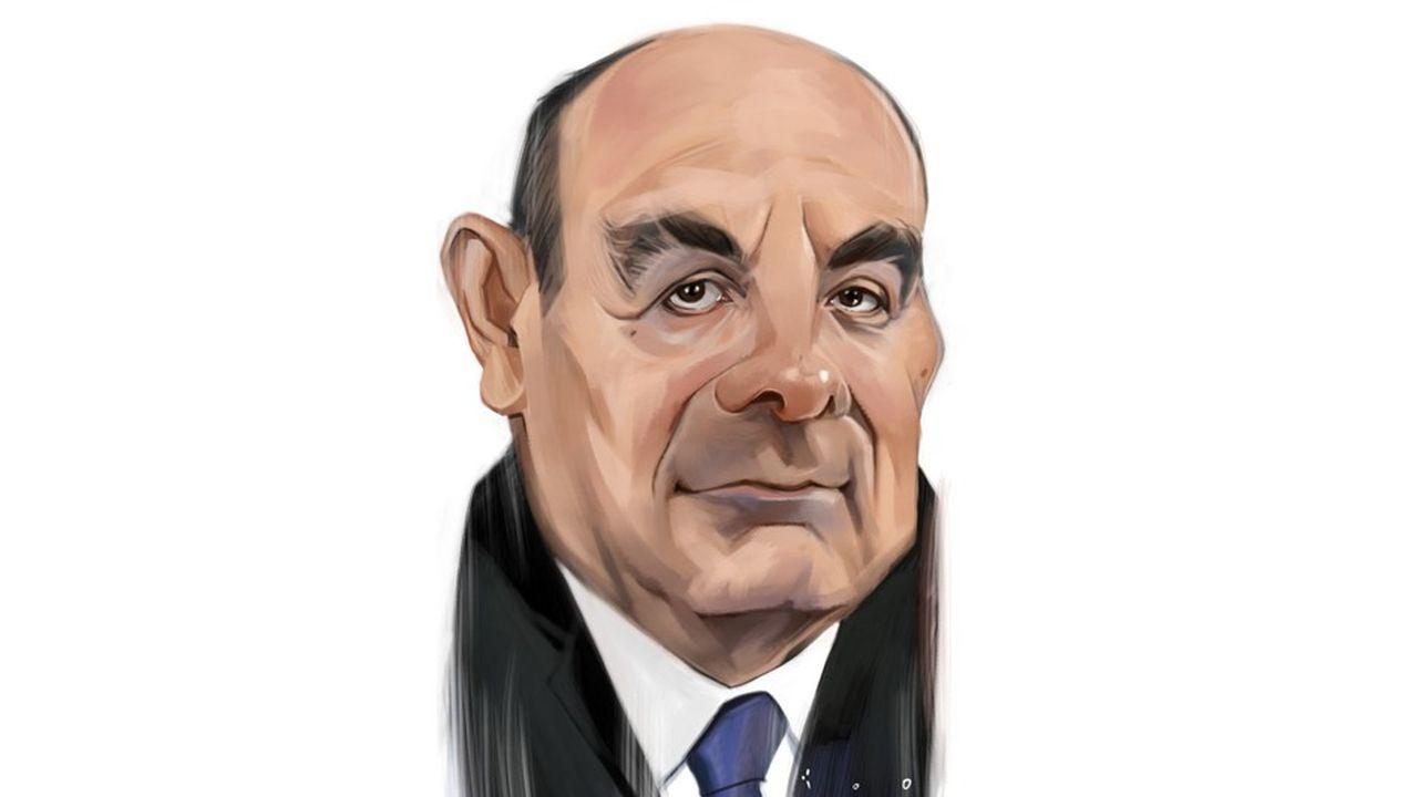 Caricature par ïoO, pour Les Echos