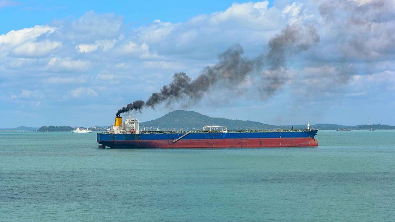 Le transport maritime ne représente actuellement qu'environ 2,2% des émissions mondiales de gaz à effet de serre (GES), selon l'Organisation maritime internationale (OMI), mais ses émissions devraient augmenter de 50 % à 250% d'ici à 2050 si rien n'est fait.