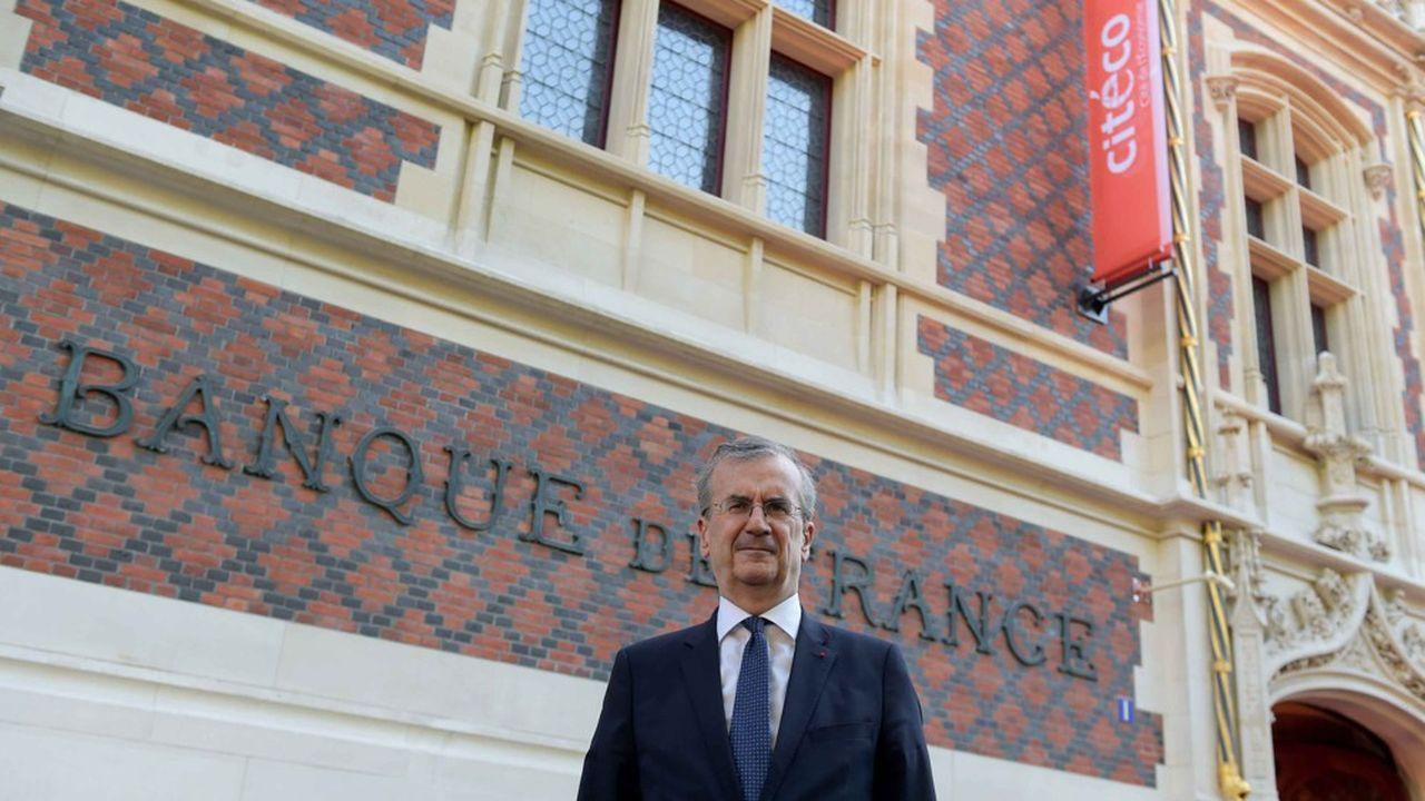 Le gouverneur de la Banque de France, François Villeroy de Galhau, préside l'ACPR, le gendarme des banques et de des assureurs. Cette autorité travaille en «pôle commun» avec l'Autorité des marchés financiers, destinéà mieux contrôler la commercialisation des produits financiers.
