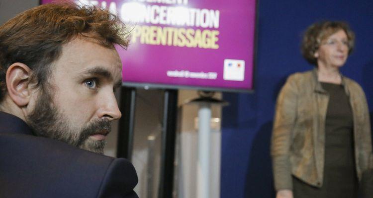 Antoine Foucher, directeur de cabinet de Muriel Pénicaud,a imaginé en grande partie la réforme de l'apprentissage quand il était au Medef