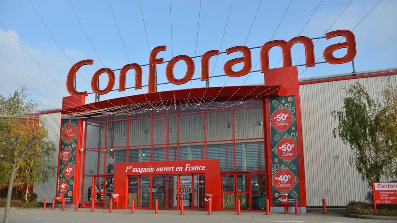 Pour son exercice clos en septembre2018, le résultat opérationnel de Conforama a plongé dans le rouge, avec une perte de 24millions d'euros.