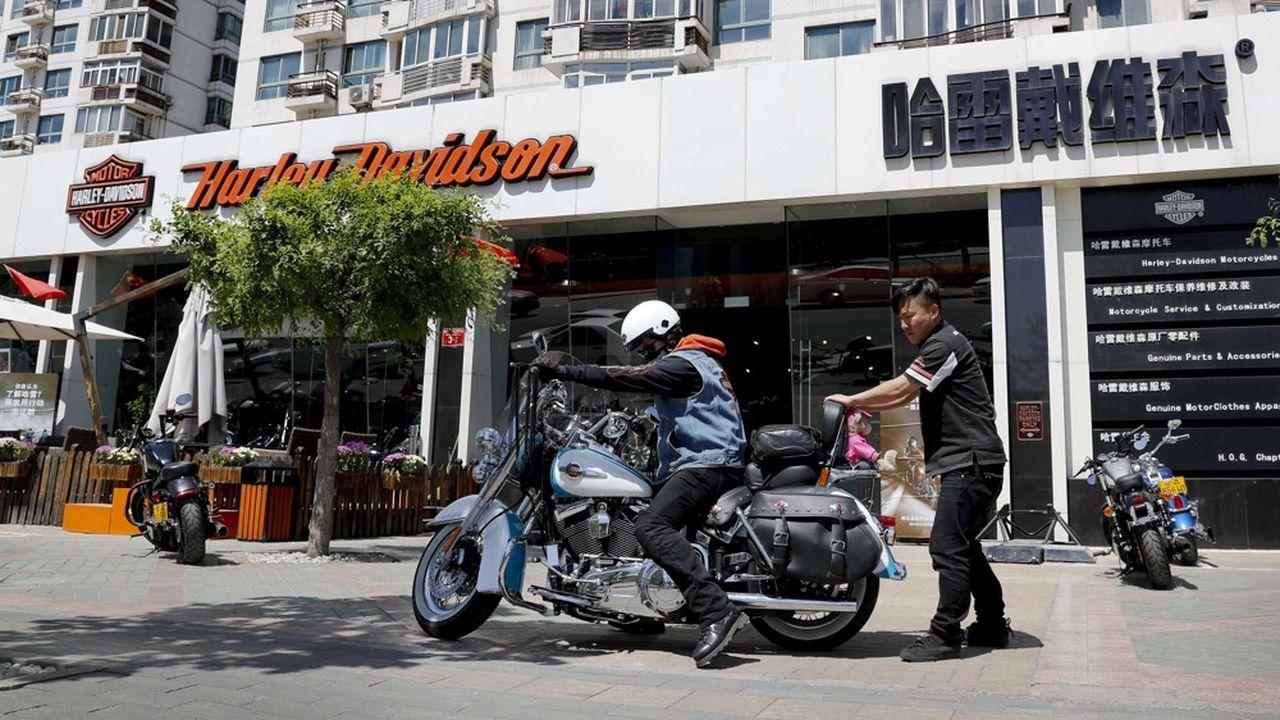 Pour séduire le marché asiatique, Harley Davidson va démarrer la production d'un nouveau modèle, plus léger.