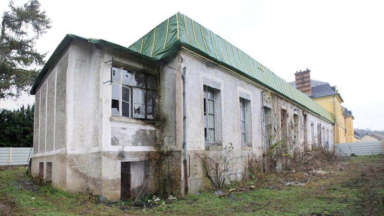 Le chantier de rénovation de l'orangerie est estimé à 1,5million d'euros.