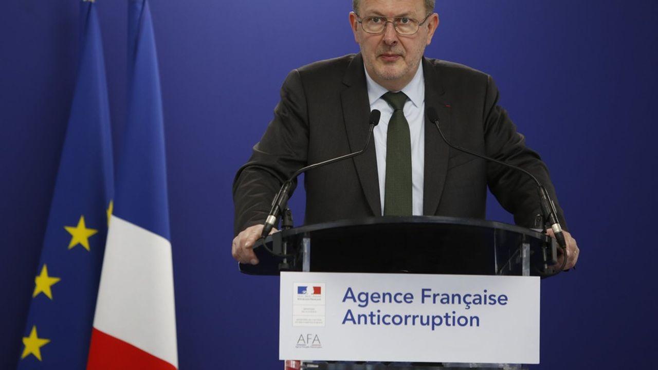 Charles Duchaine, directeur de l'Agence française anticorruption.