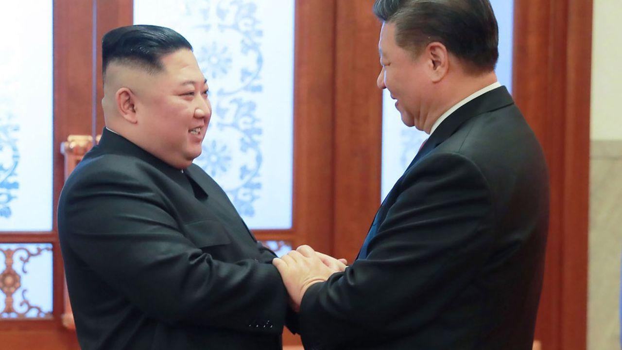 Après quatre visites en Chine de Kim Jong-un au cours des quinze derniers mois, c'est au tour de Xi Jinping de se rendre en Corée du Nord, ces jeudi et vendredi.