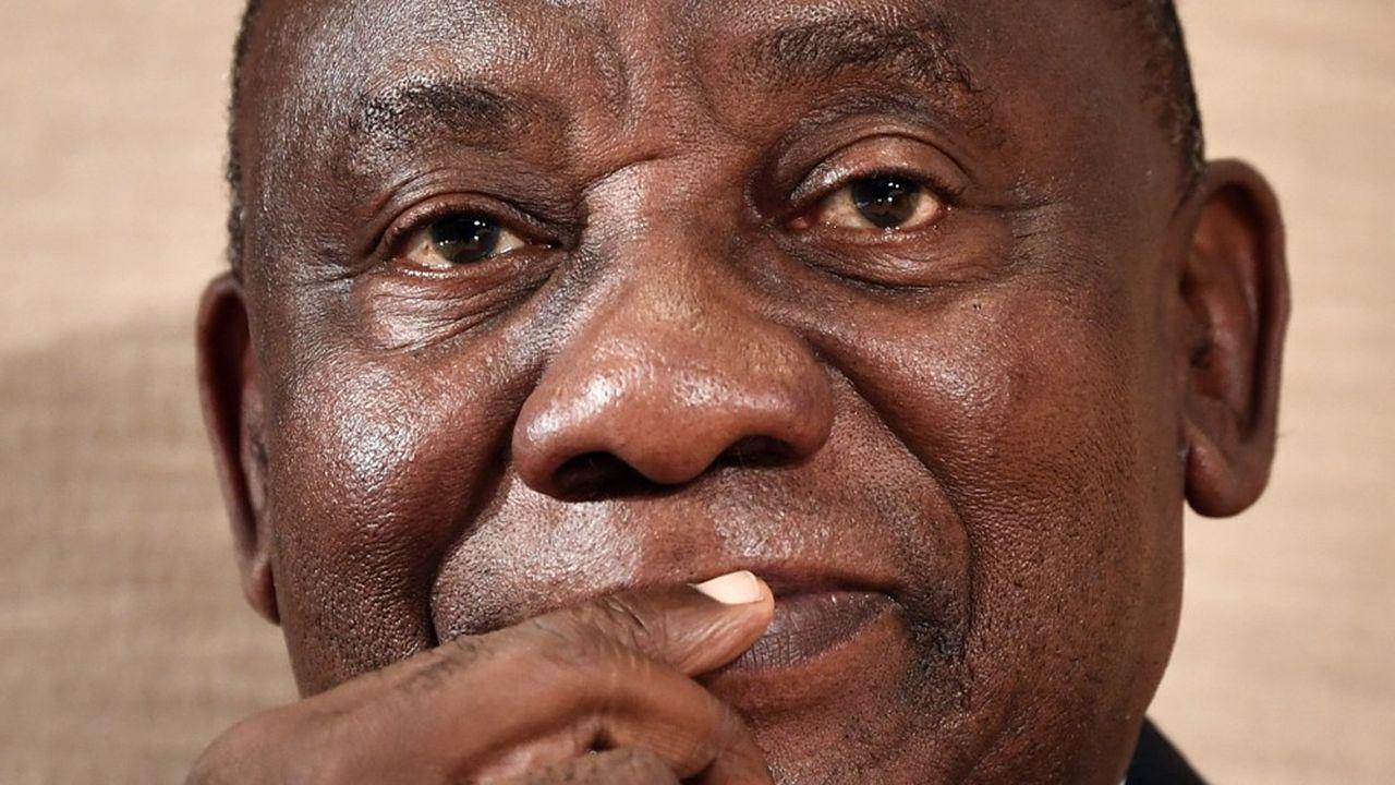 Le président sud-africain Cyril Ramaphosa, légitimé par sa victoire électorale en février dernier.