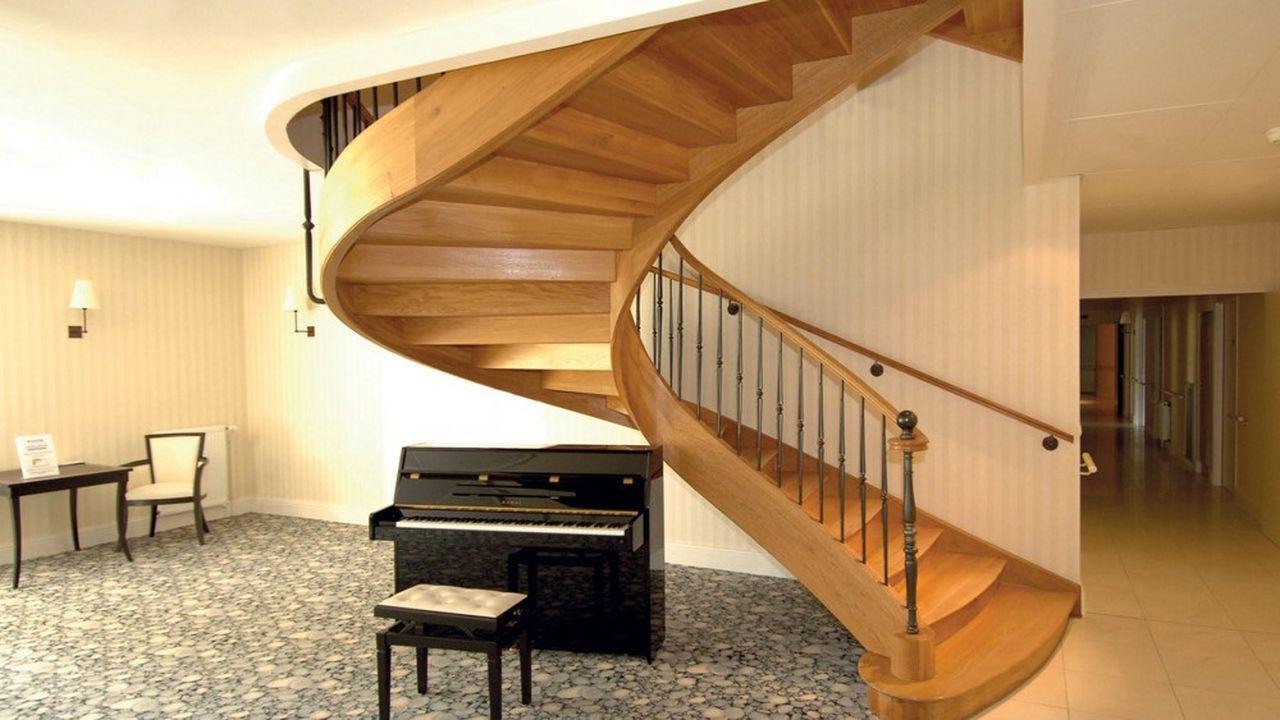 Livrés en Kit les escaliers Bellier peuvent être montés par les clients.