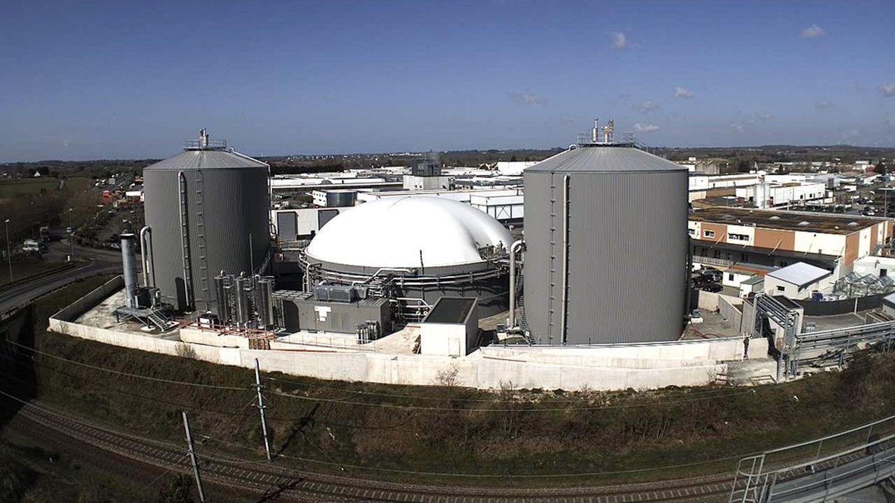 Le méthaniseur de Cooperspourra traiter 156.000 tonnes par an de déchets, principalement issus de 120 élevages et de résidus d'abattoirs.