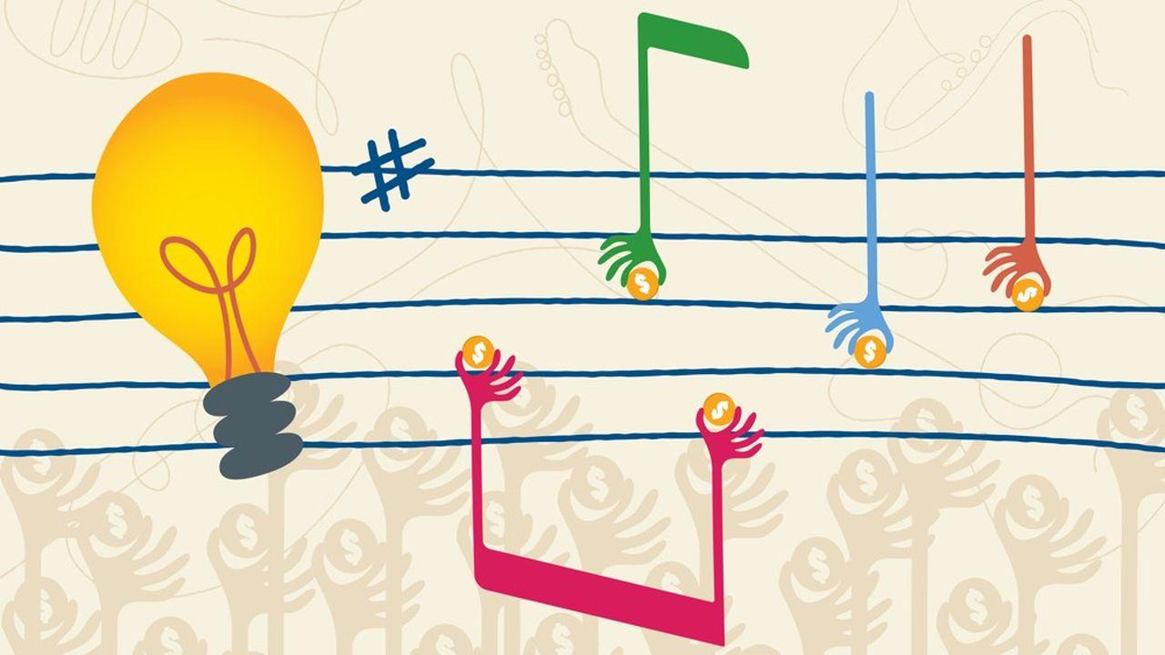 A l'origine du financement participatif, il y avait la musique
