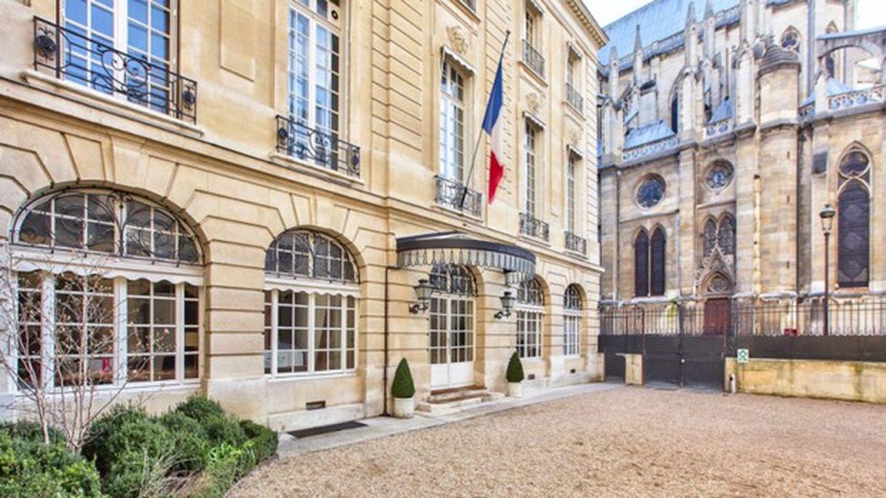 L'hôtel de Vogüe, ancien siège de France Stratégie, a été vendu l'an dernier pour 48,15millions d'euros et représente la cession la plus importante pour l'Etat de 2018.