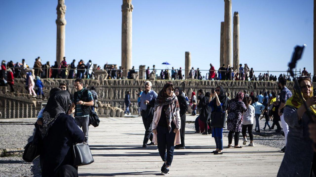 Près de 7,8millions de touristes sont venus en Iran l'an passé, permettant au pays d'engranger environ 9milliards de dollars et de créer 1.300 emplois dans le secteur