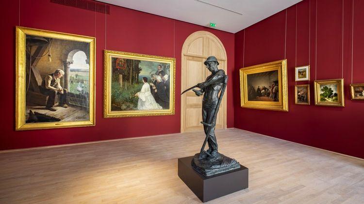Des collections de 130.000 oeuvres