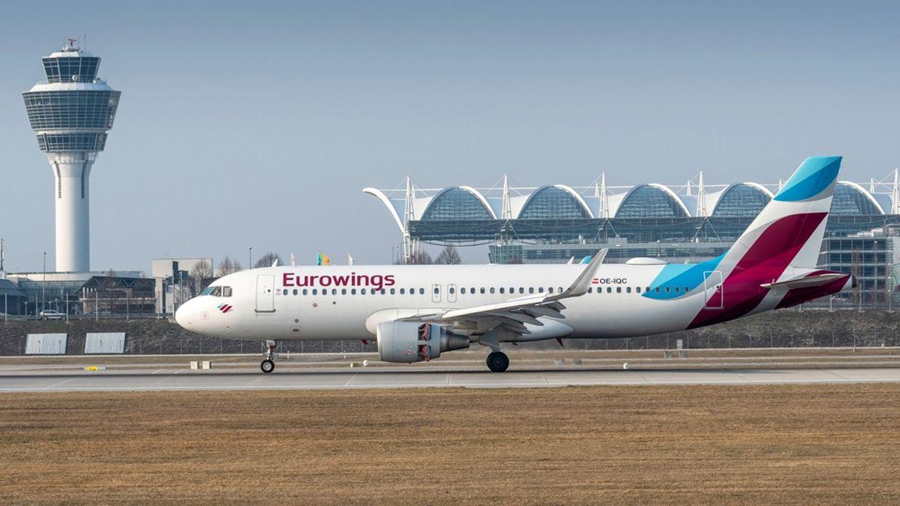 Eurowings, la filiale à bas coûts de Lufthansa, a essuyé en 2018 une perte d'exploitation de 231millions d'euros, notamment plombée par les coûts d'intégration d'Air Berlin.