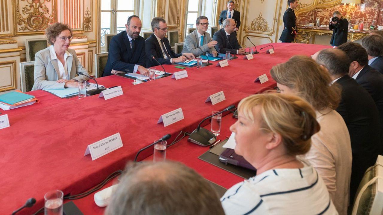 Le 18juin, Edouard Philippe a présenté aux partenaires sociaux une réforme de l'assurance-chômage très controversée.