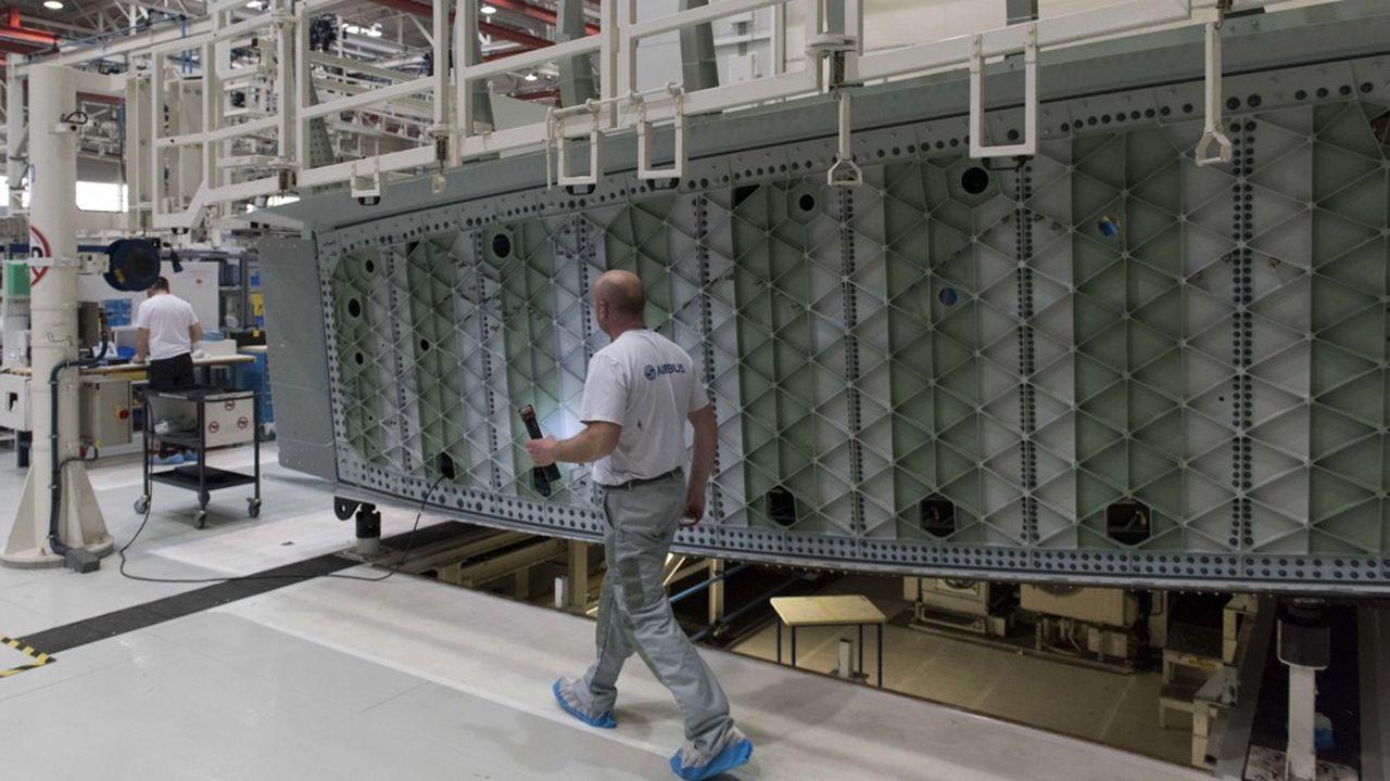 Airbus mise notamment sur la mobilité interne pour répondre à l'évolution des métiers au sein du groupe.