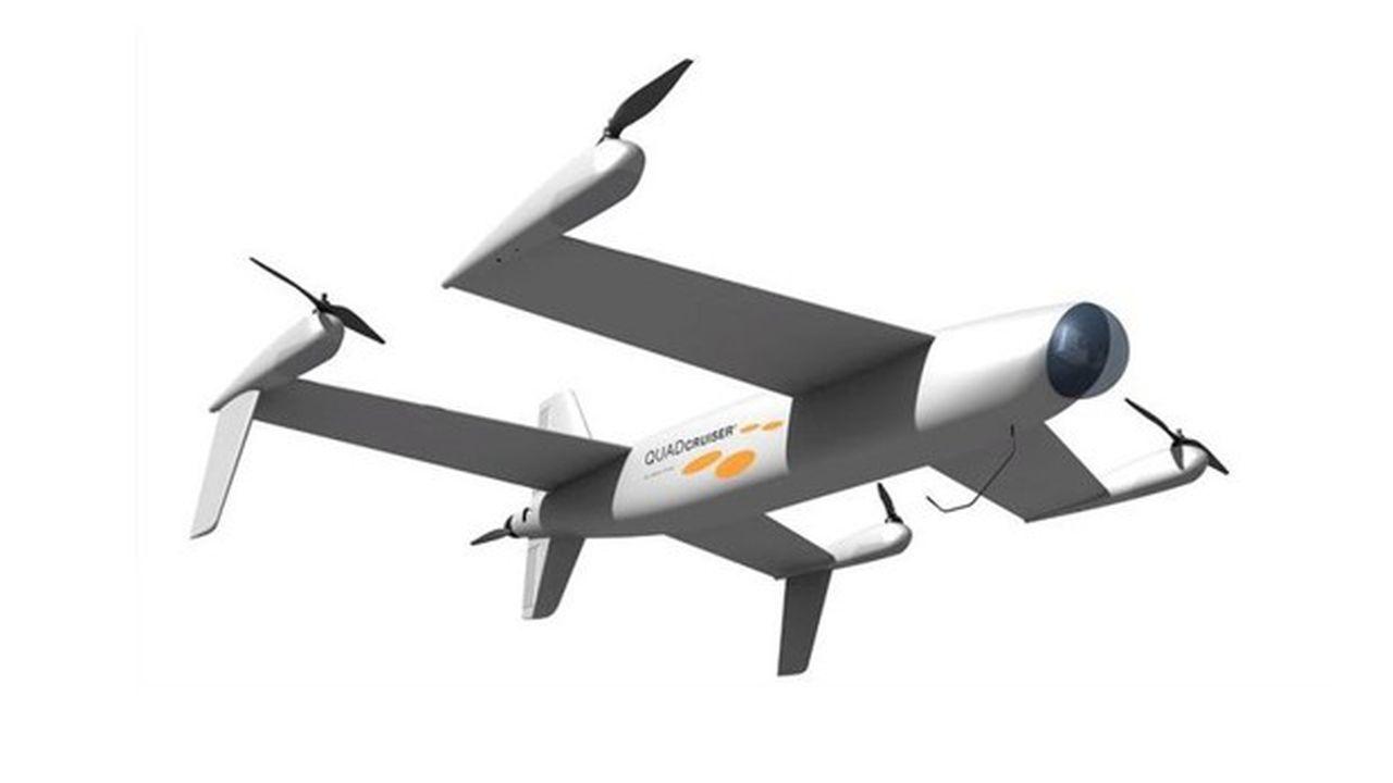Le QuadCruiser est un projet de drone d'Airbus.