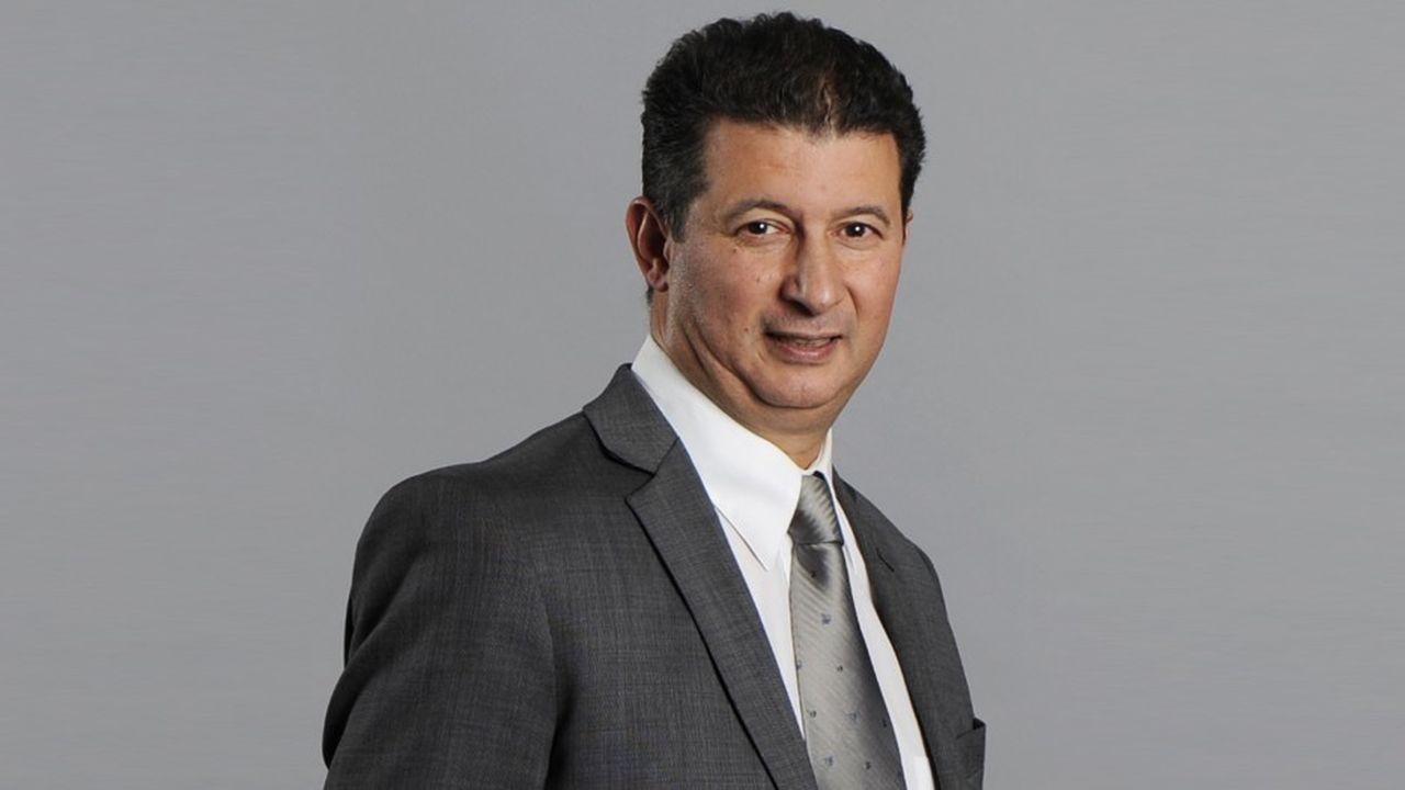Youssef Achour, nommé PDG du groupe Up samedi dernier