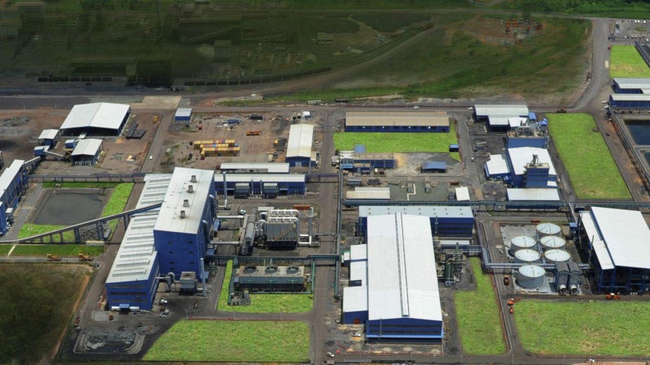Le complexe métallurgique de Moanda au Gabon, géré par la filiale d'Eramet Comilog, inauguré il y a quatre ans.