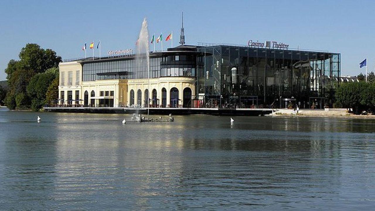 Casino du lac d'Enghien.