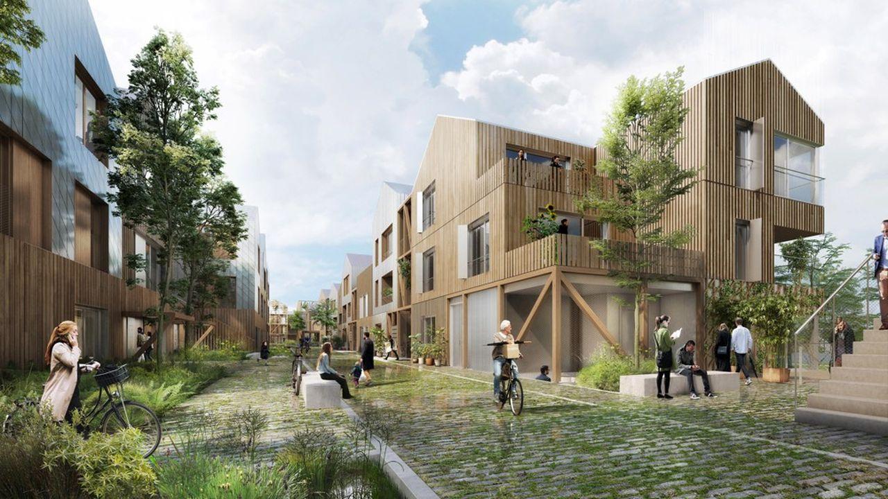 Le projet est retenu dans le cadre du dispositif « 100 quartiers innovants et écologiques » de la région Ile-de-France.