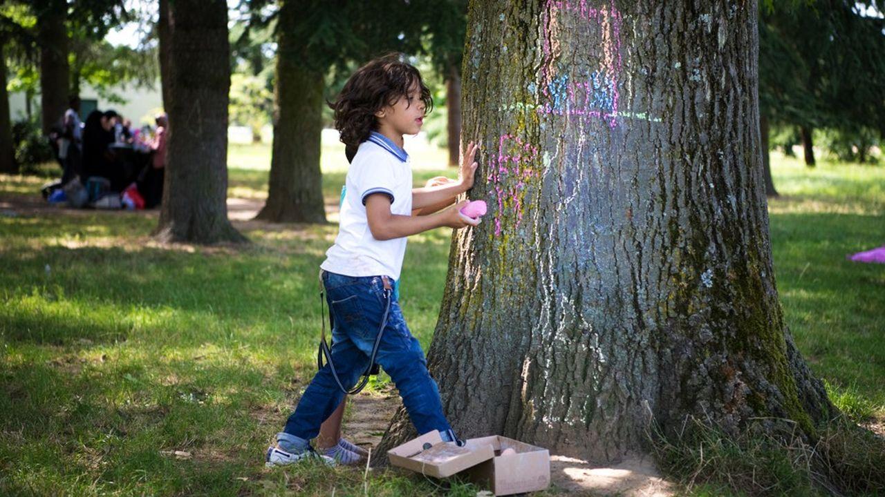 une « Forêt des Naissances » va être crée autour de la maternité Natescia en partenariat avec la Métropole de Lyon