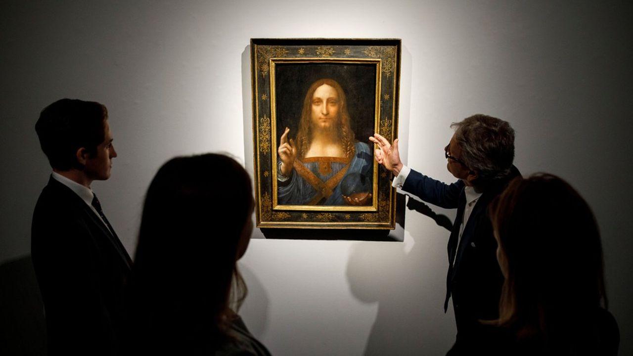 Le prix record de 450 millions de dollars atteint par le « Salvator Mundi » chez Christie's ne cesse de faire débat.