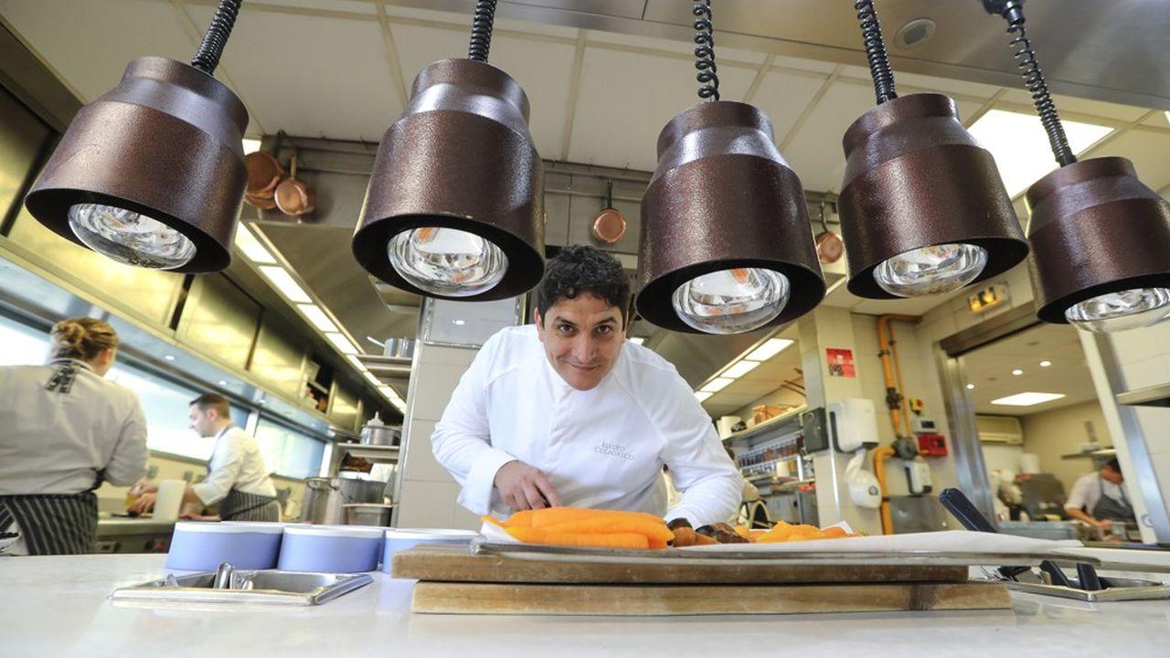 Le Mirazur sert une cuisine cosmopolite revendiquée par le chef argentin Mauro Colagreco.