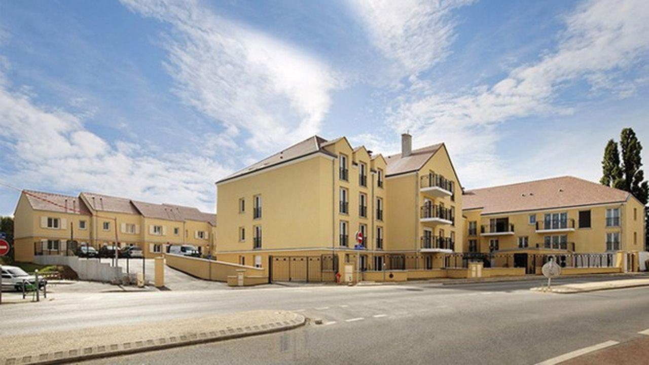 CDC Habitat a créé l'an dernier 2.900 logements intermédiaires. Ici un programme récemment livré à Saint-Ouen-L'Aumône, dans le Val-d'Oise.