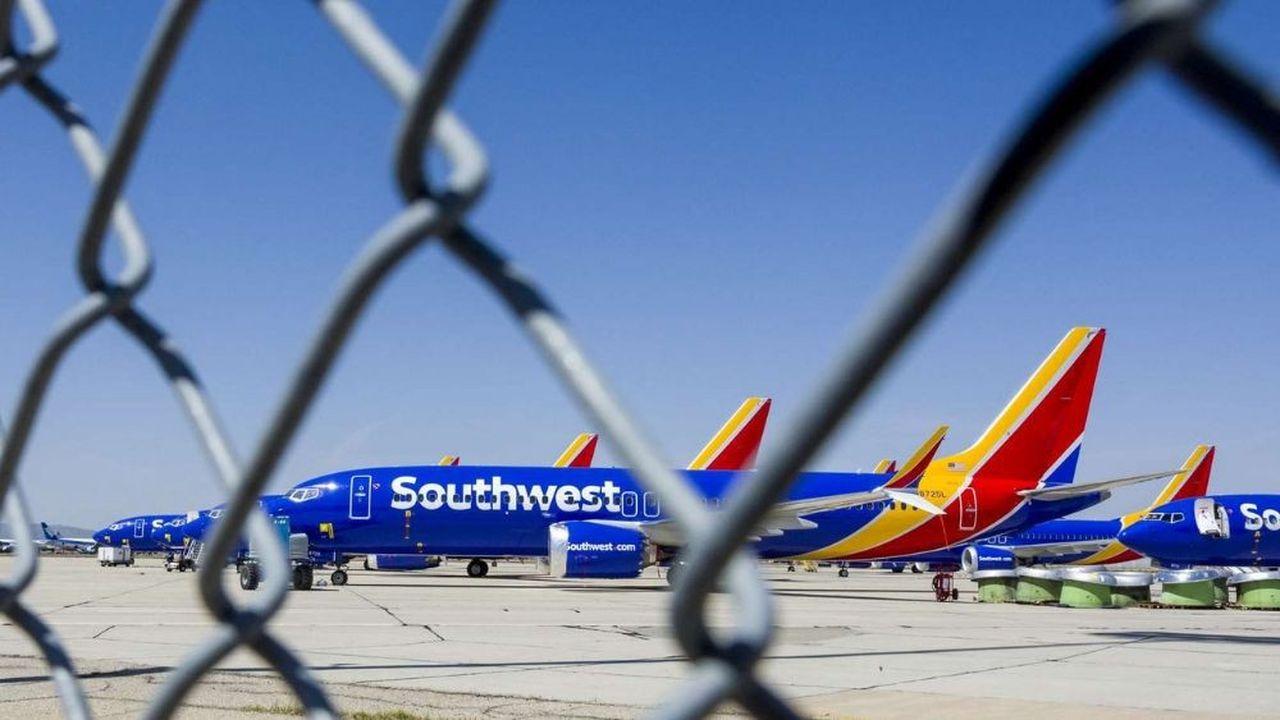 Southwest est l'une des trois compagnies américaines propriétaires de Boeing 737 MAX.