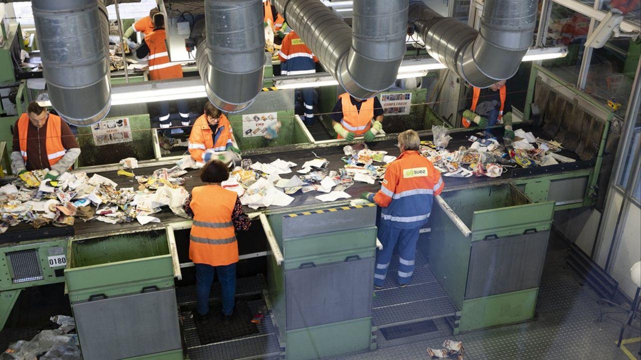 Le secteur de la gestion des déchets est en troisième position dans la liste des secteurs où les taux de rupture de contrats sont les plus fréquents.