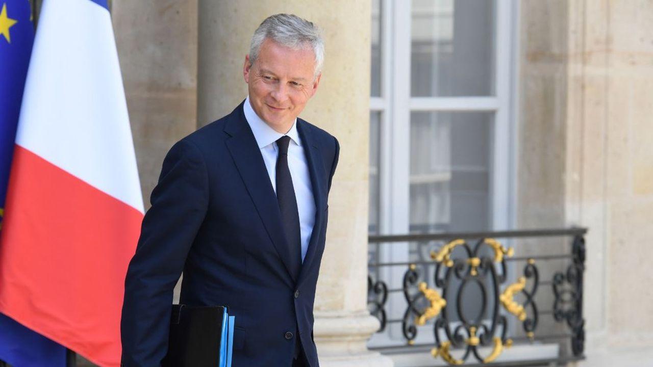 Bruno Le Maire est le ministre qui porte cette idée de taxe sur les géants du numérique.