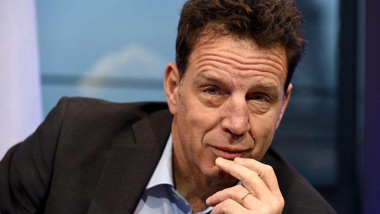 Geoffroy Roux de Bézieux a été élu président du Medef le 3juillet 2018.