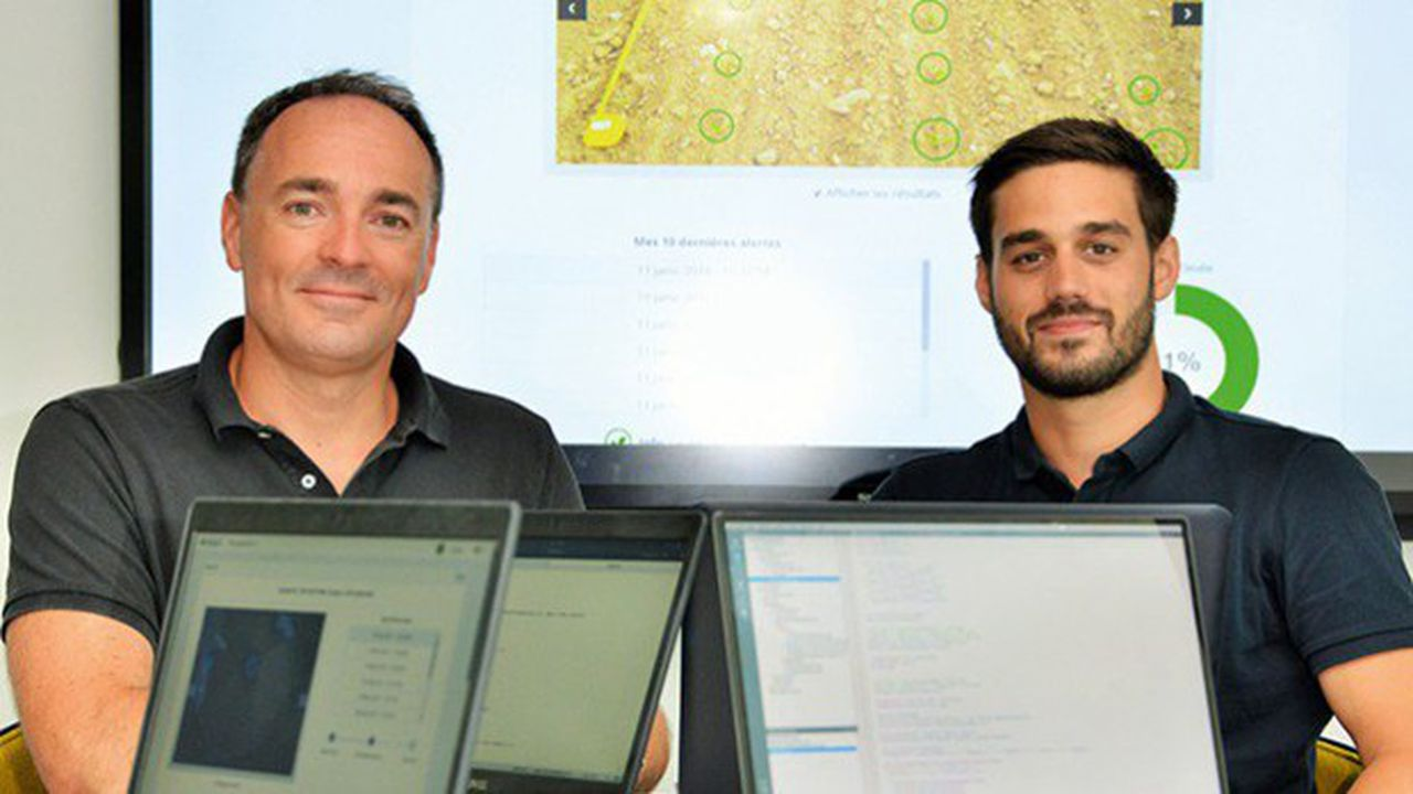 Alban Pobla (à gauche) et Aurélien Yol (à droite), les deux fondateurs de Dilepix.