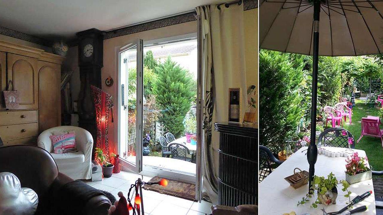 La maison bénéficie d'un jardin plein sud, situé à l'arrière, d'environ 80 mètres carrés, arboré, fleuri et sans vis-à-vis.