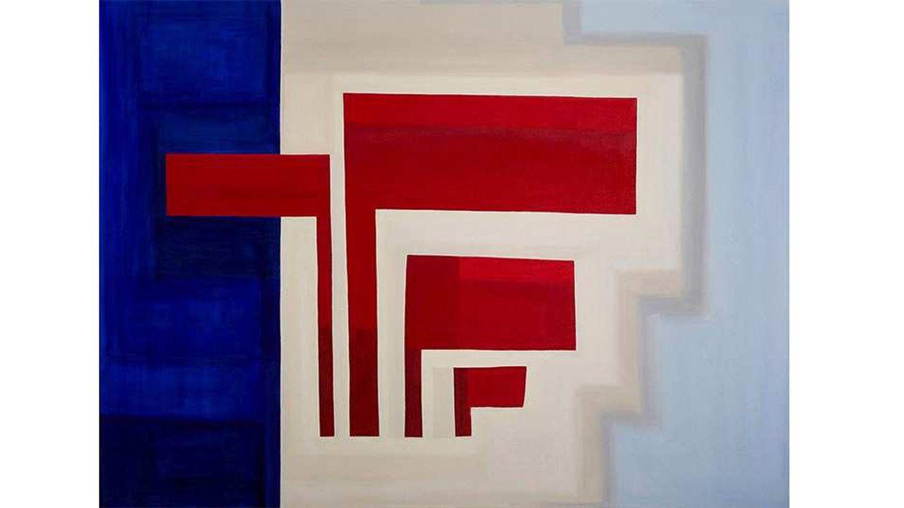 Présentées par le galeriste Ignacio Liprandi, les peintures géométriques abstraites de l'Argentine Magdalena Jitrik sont dans la grande tradition latino-américaine.