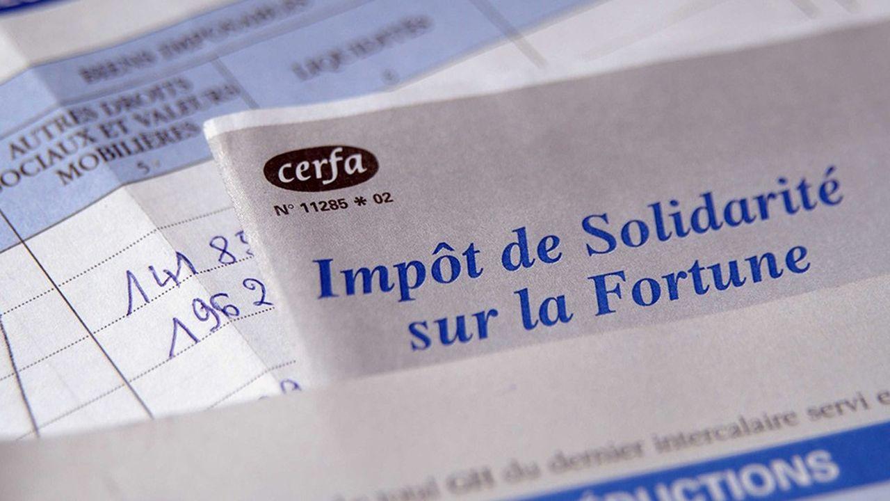 Le seuil d'entrée dans l'ISF est fixé à 1,3 million d'euros.