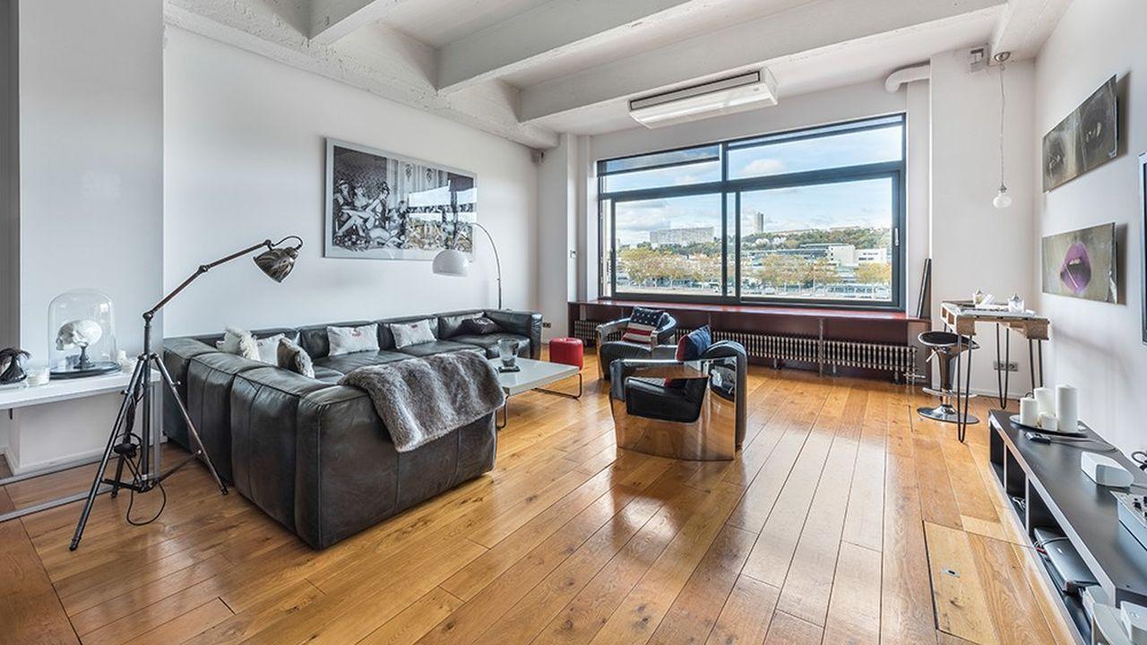 Un loft de 150 m2 à Lyon