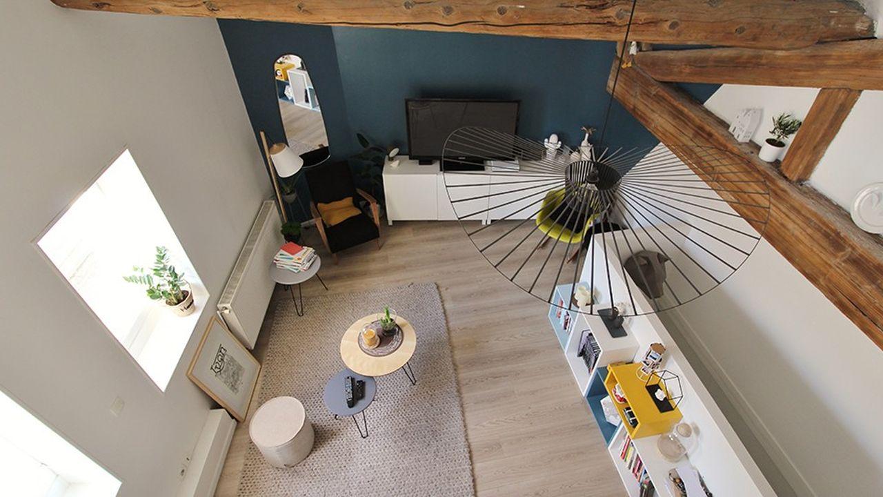 L'appartement de la semaine : un loft de 3 pièces à Lyon