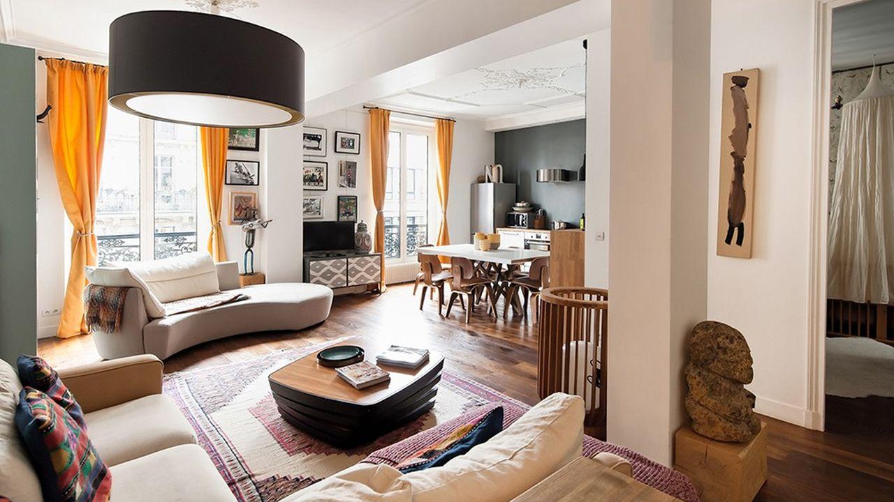 L'appartement de la semaine: un 90m2dans le 10earrondissement de Paris