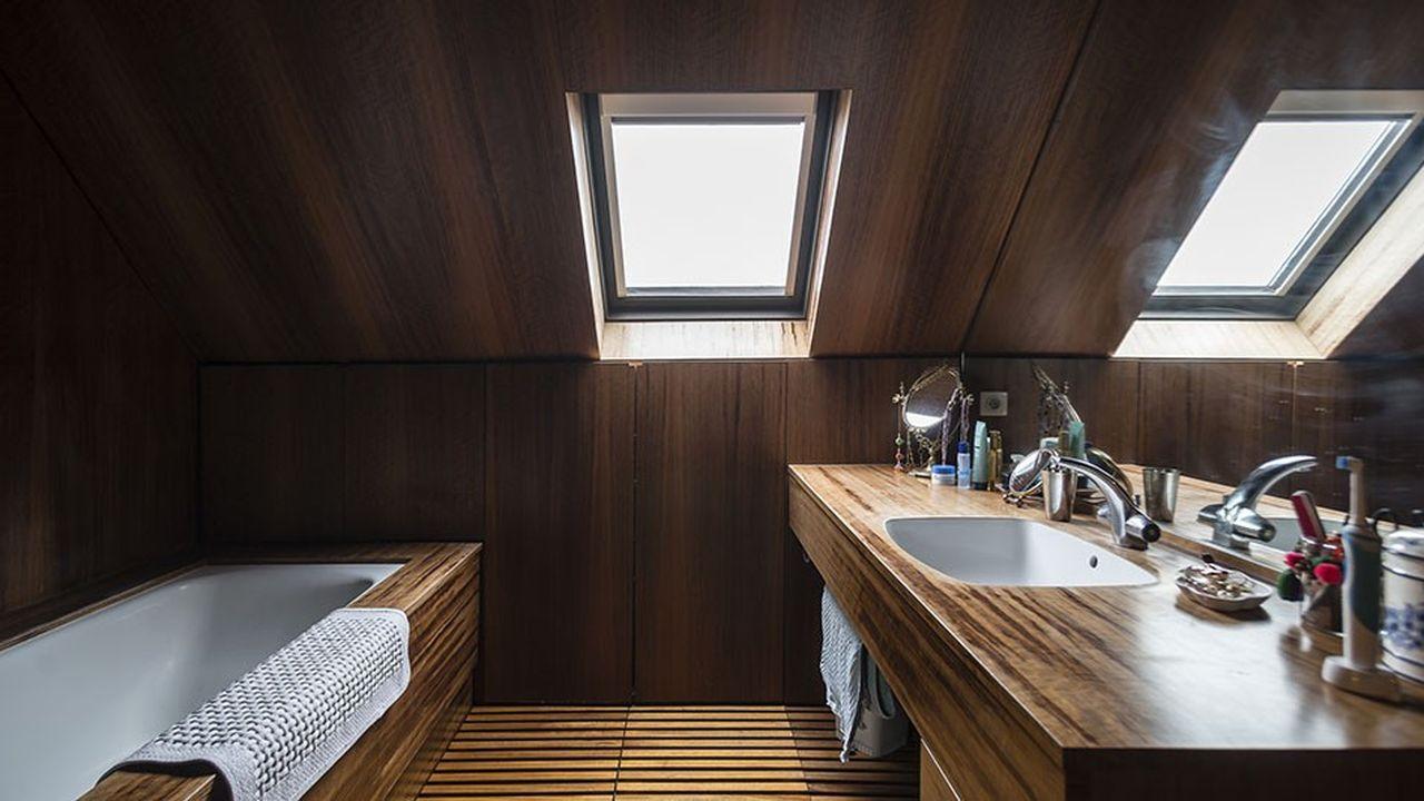 Un loft de 174 m² situé à Ancenis.