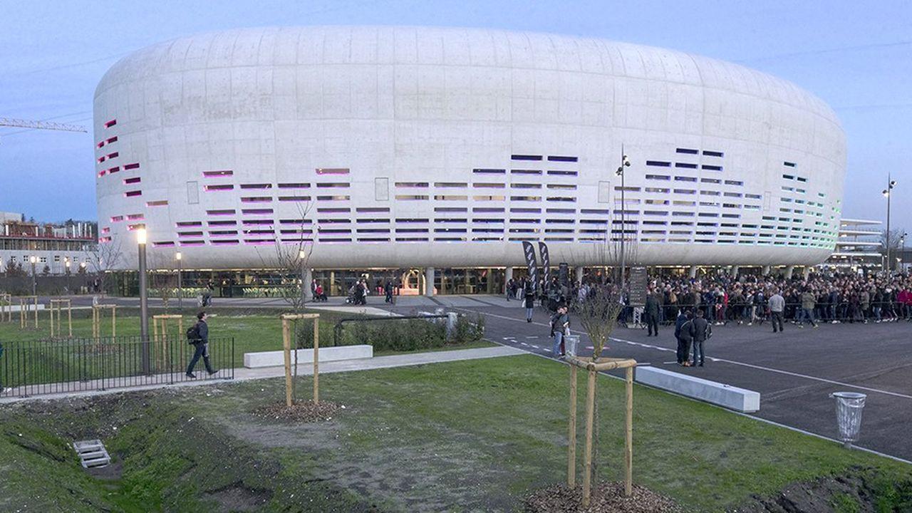 Symbole des projets d'aménagement de la rive droite, la nouvelle salle de spectacles et concerts a été inaugurée le 24janvier à Floirac, de l'autre côté du futur pont Simone Veil
