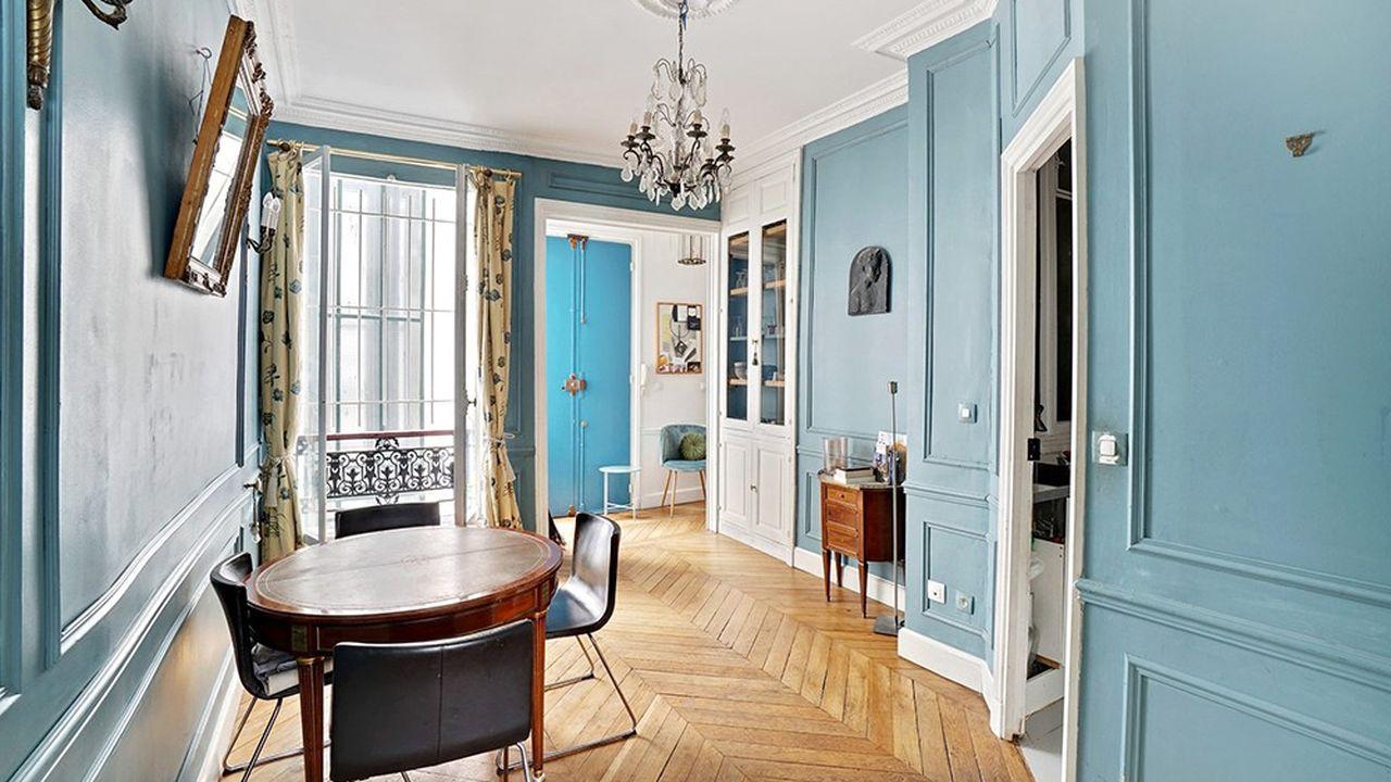 L'appartement de la semaine : un 83 m2 dans le 9e à Paris