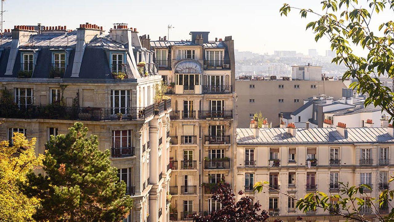 A Paris, les prix de 10 arrondissements (sur 20) sont supérieurs à 10.000euros le m2.