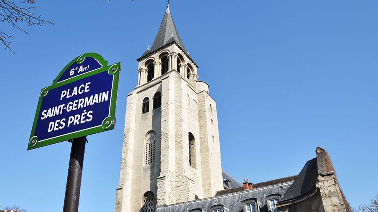 Avec des prix au-dessus des 14.000euros du mètre carré, le quartier de Saint-Germain-des-Prés est le 3e le plus cher de la capitale.