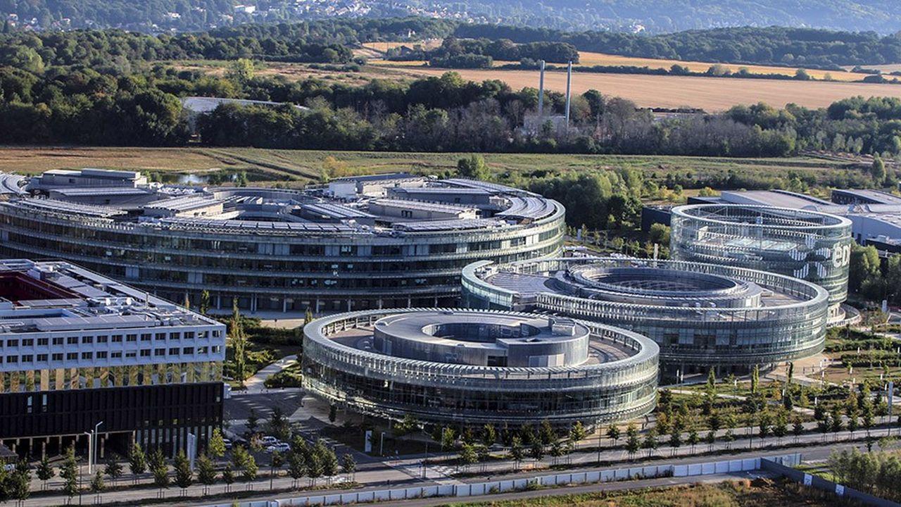 Region parisienne, département de l'EssonneAménagement du Grand Paris, Plateau de SaclayCampus EDF Paris Saclay.
