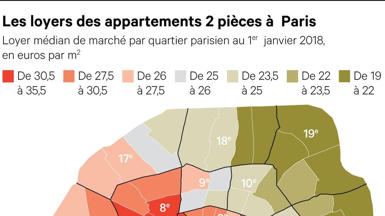Logement: quels plafonds de loyers pour les appartements parisiens ?