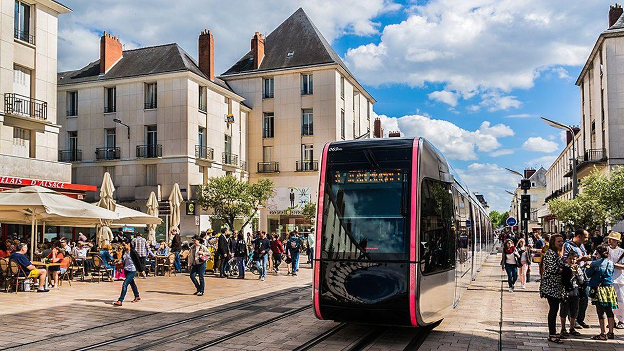 Des villes de taille moyenne comme Tours (photo) commencent à voir leur prix grimper.