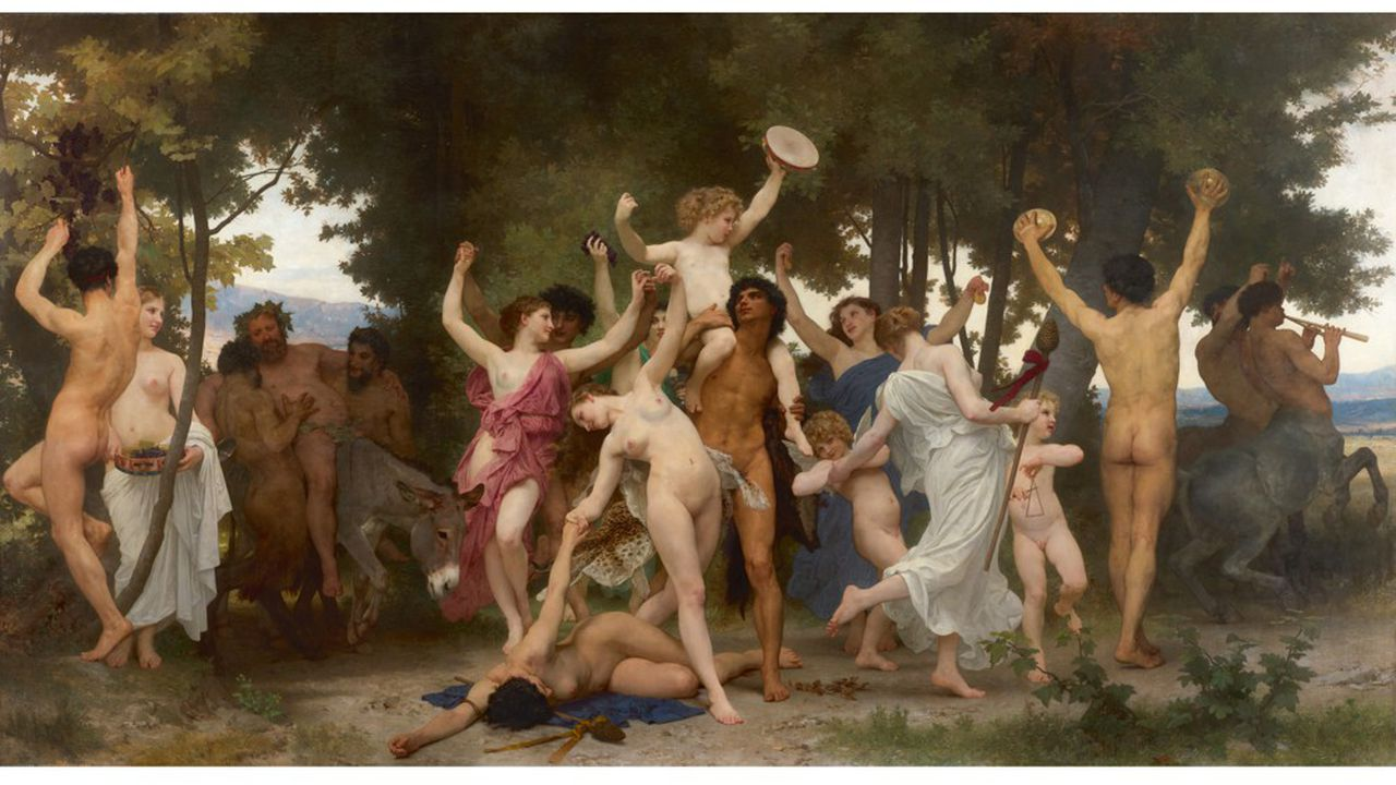 «La jeunesse de Bacchus», de William Bouguereau, est proposée avec une estimation colossale de 25 millions de dollars.